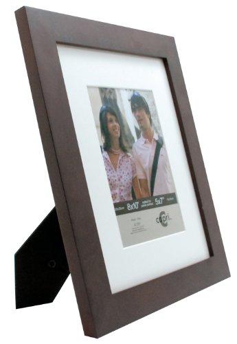 Kiera Grace PH43458-6 Langford Wood Picture Frame, 8 x 10, Espresso