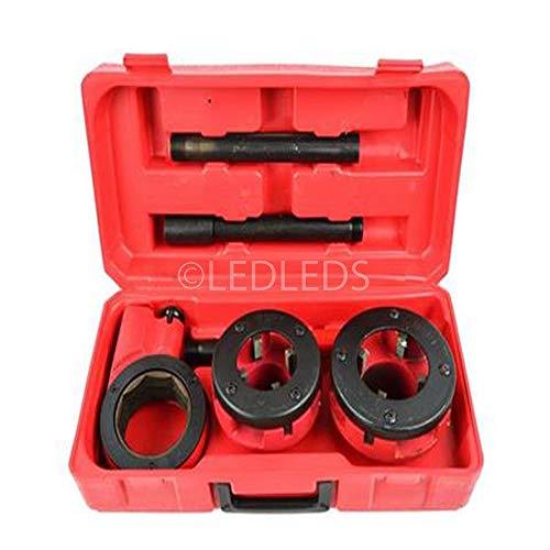 Filiera per tubi idraulici professionale filettatrice 3 pezzi da 1-12 2