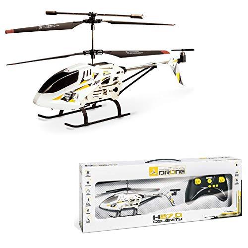 mondo motors 63269-s8 elicottero, infrarosso, medium, 3.5 canali, colore nero, 63269