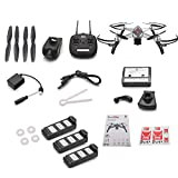 gaeruite MJX Bugs 5W Drone con Videocamera 1080P 5G Wifi FPV HD - Seguimi, MT1806 1500KV MOTORE...