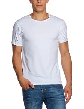 SELECTED HOMME 16034242 Pima ss o-neck - Camiseta, con manga corta, con cuello redondo para hombre