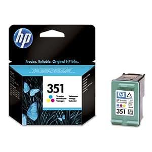 1x Cartouche d'encre pour Imprimante HP Officejet J5700 - Tri-Colour