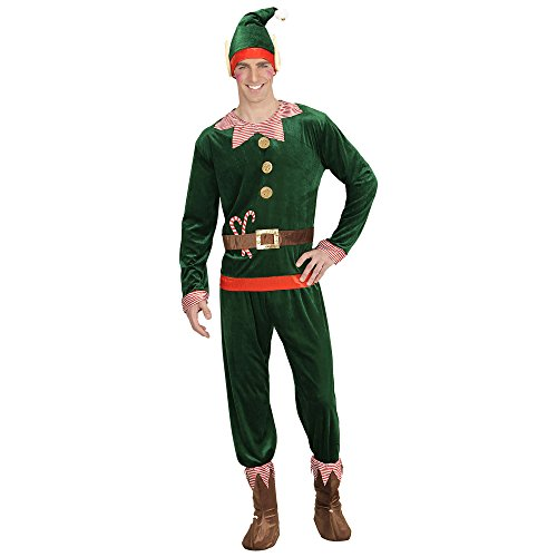 WIDMANN Elfo Aiutante di Babbo Natale per Adulti 6f1106d05465