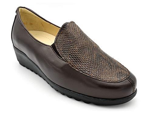 Zapato Mocasin para Plantillas Drucker M-silvio 52 Marron - Marron, 40