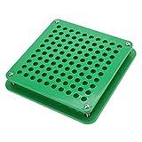 Capsules remplissant machine vert, 100 trous avec l'épandeur de poudre met en forme des capsules remplissant l'outil 2 de types certification FDA (00#)