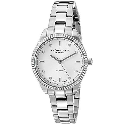 Stuhrling Original Symphomy Allure 607L.01 - Reloj de pulsera Cuarzo Mujer correa deAcero inoxidable