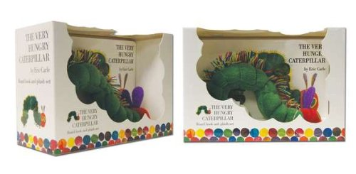 The Very Hungry Caterpillar Board Book and Plush [With Plush] (Book&Toy)