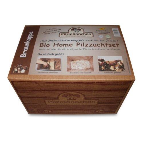 Bio Home Pilzzuchtset für Braunkappen