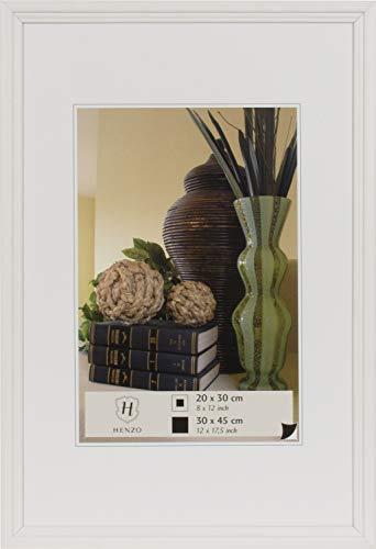 fotorahmen 30x45 Henzo 8024402 Rahmen Artos Bilderrahmen, Holz, weiß, 30 x 45 x 7.5 cm