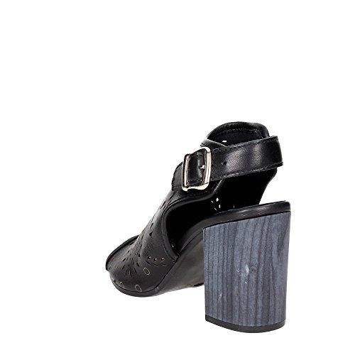 Pregunta IK20335-S Sandalo Donna Nero