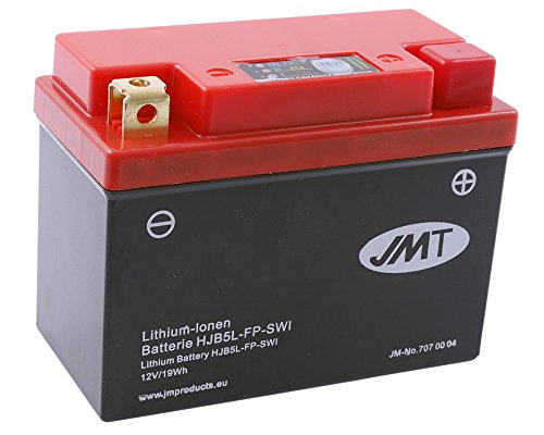 Batterie Lithium JMT HJB5L-FP für HONDA NP50, M Sky 50 ccm Baujahr -97[ inkl.7.50 EUR Batteriepfand ] -