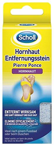 Scholl Hornhaut-Entfernungsstein, Stein zur Hornhautentfernung, 2er Pack