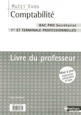 Comptabilité BAC pro secrétariat 1e et Tle professionnelles : Livre du professeur