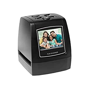 """Protable Negative Film Scanner 35mm 135mm Slide Film Converter Photo Digital Image Viewer with 2.4"""" LCD Build-in Editing Software"""
