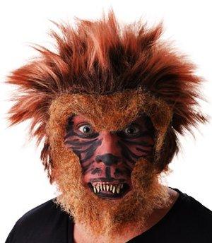 Dress Teen Fancy (Set, Werwolf Wolf Man Zähne Wolfsmensch Teen Wolf Halloween Fancy)