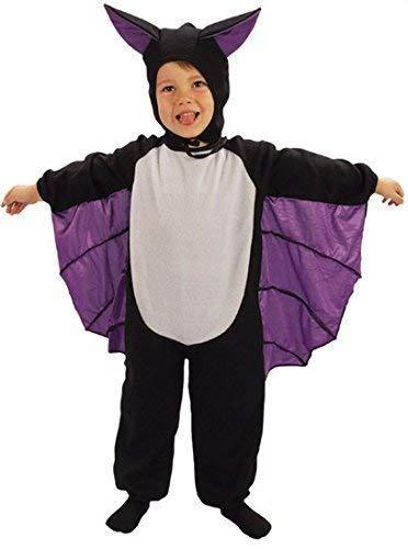 Fancy me bambina bambino bambini pipistrello vampiro halloween costume travestimento 3 anni