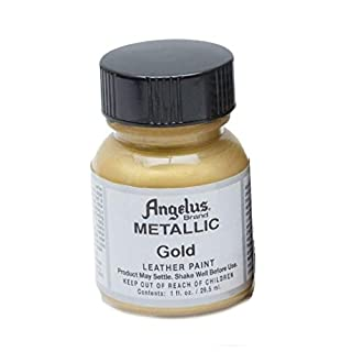 Angelus Leather Paint 1 Oz Gold