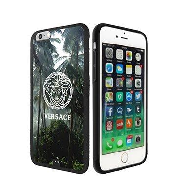 Cool Hülle Schutzhülle Versace Iphone 6 Plus Handy Hülle Versace Brand Logo for Women männer, TPU Silikon Iphone 6S Plus Hülle Case Versace
