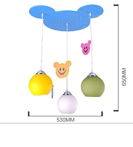 Children 's Kronleuchter Kindergarten dekorative Leuchten Jungen Mädchenraum Karikatur Kronleuchter Schlafzimmerbeleuchtung Lampen - 3