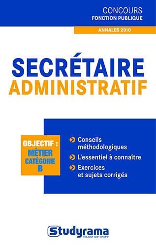 Secrétaire administratif cat.B