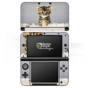 DeinDesign Nintendo 3 DS XL Case Skin Sticker aus Vinyl-Folie Aufkleber Baby Katze Kitty Cat