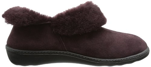 Romika Romilastic 102, Chaussons femme Rouge (Brombeer)