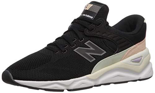 New Balance WSX90TXB !!es damskie Sneakers (38, Black with Thistle)