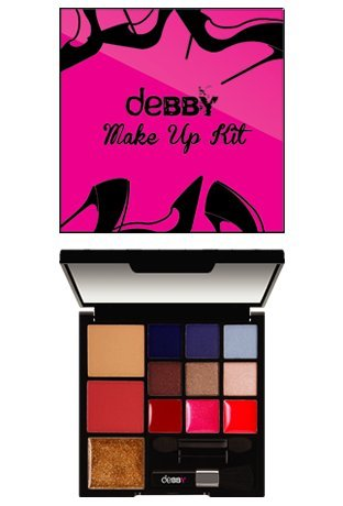 DEBBY MAKE-UP KIT PALETTE TROUSSE TACCO A SPILLO
