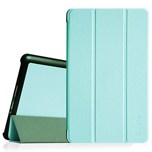 Fintie Samsung Galaxy Tab S 8.4 Hülle Case - Ultra Schlank superleicht Ständer Slim Shell Cover Schutzhülle Etui Tasche mit Auto Schlaf/Wach Funktion, Blau