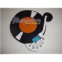 Disco orario Vinile - giradischi - idea regalo deejay