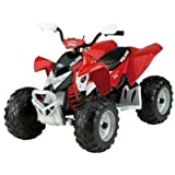 Peg-Perego - IGOR0049 - Polaris Outlaw quad 12 Volts - Rouge
