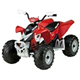 Peg-Perego IGOR0049 - Polaris Outlaw quad 12 Volts - Rouge