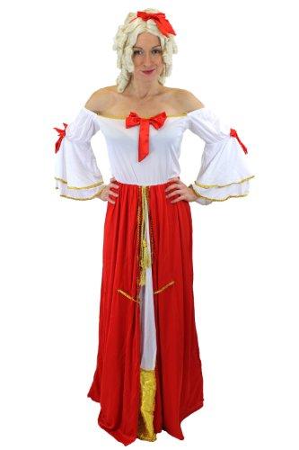 Damenkostüm Kostüm Kleid Königin Prinzessin Edeldame Barock Viktorianisch Gr. 40, (Antoinette Königin Marie Kostüm)
