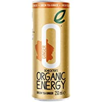 Scheckter's Organic Energy Green Tea and Ginger 250 ml (Case of 12)