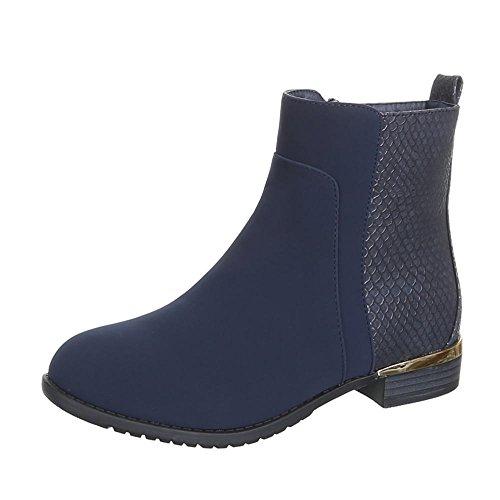 Ital-Design, Stivali donna Blu (blu)