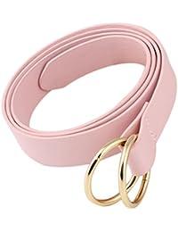 Gespout Cintura Cinturón Cuero Mujer Ropa Verano CamisetaJeans Elásticos Deportivos Belt Regalo de Cumpleaños Organizadores de