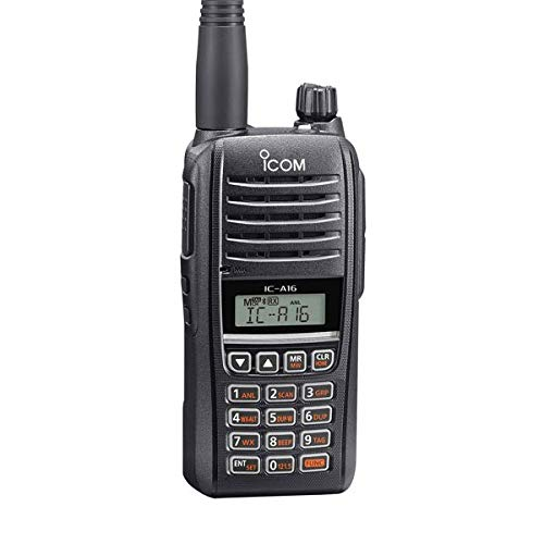 Icom IC-A16 VHF COM Aviation Handheld Icom Handheld