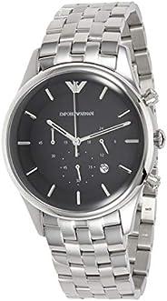 Emporio Armani Men's Analog-Quartz Watch With Stainless-Steel Strap Ar11017, Silver