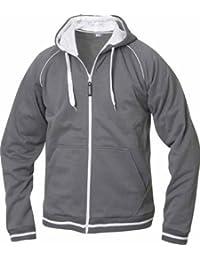 Kapuzen Sweatjacke Sweatshirt CLIQUE Sweat in 6 Farben und den Grössen S, M, L, XL, XXL