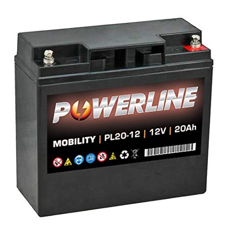 PL20-12 Powerline Batteria 12V 20Ah