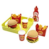 Ecoiffier 957 - Hamburger Set mit Tablett