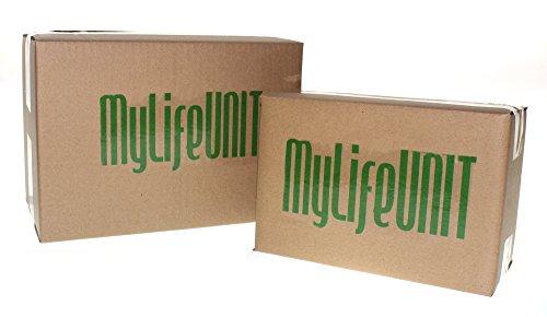 Mylifeunit Papierklemme, groß, Metall, 145mm, 3Stück