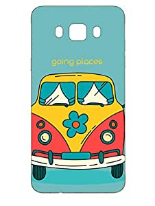 Samsung J7 2016 Back Cover - I am Going Places - Designer Printed Hard Shell Case
