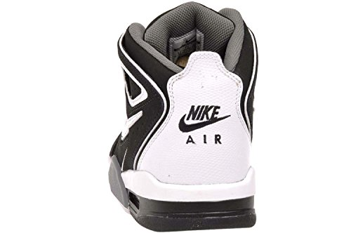 Air Flight Falcon scarpa da basket Stealth/White-Cl Grey-Ntrl Gry