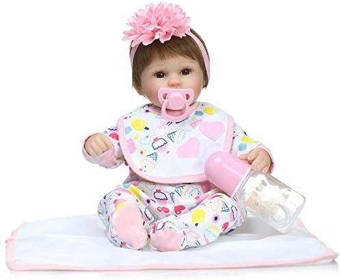 LLX Nicery Reborn 40 Baby Doll Réaliste Simulation Bébés Poupées 15 Pouces  40 Reborn Cm Réaliste 9889d4d6aac