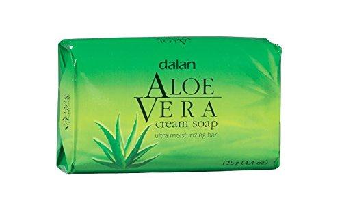 Dalan Ultra Feuchtigkeitscreme Seife Aloe Vera 3er Pack 3x125g