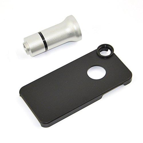 Apexel Mikroskop-Aufsatz für Handys, 50cm Brennweite, Aluminium Für iPhone 5 Flower & Insects...