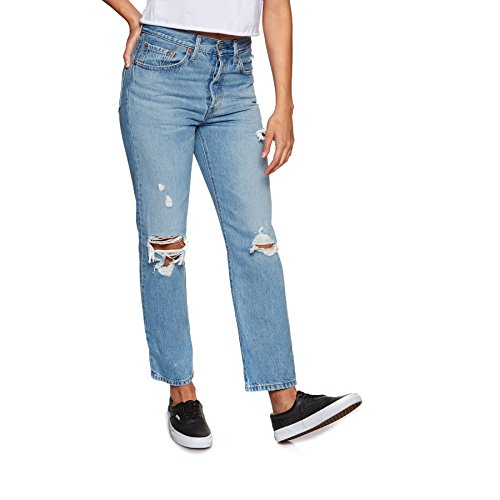 Levis 501 Crop Womens Jeans 26W x 28L Authentically Yours - Levis 501 Jeans Womens