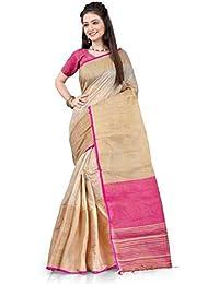 Fabattic Women's Silk Saree With Blouse Piece (CHI51_Multicolored)
