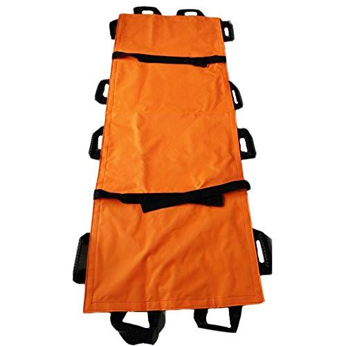 Bahren tragbarer transporteinheit-patientenaufzug, rollentrage Faltbarer erste-Hilfe-Haushalt einfache Kupplung, orange